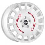 Диск колесный OZ Rally Racing 8xR18 5x114.3 ET45 ЦО75 гоночный белый с красными буквами W01A1220633