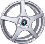Диск колесный Venti 1 510 6xR15 4x100 ET37 ЦО60.1 серебристый 00037424