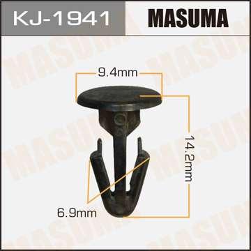 Клипса автомобильная (автокрепеж), уп. 50 шт. Masuma KJ-1941