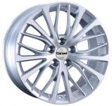 Диск колесный Carwel Майя 194 7xR17 5x114.3 ET45 ЦО60.1 серебристый металлик 101763