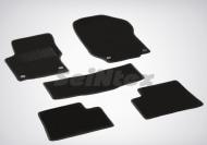 Коврики салона текстильные на резиновой основе LUX, черные Seintex 82446 Mercedes M-Class W164 2005 - 2011