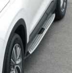 Боковые пороги X6 Style для Санта Фе 4 (Hyundai Santa Fe 2018 - 2019)