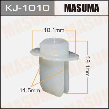 Клипса автомобильная (автокрепеж), 1 шт., Masuma KJ-1010