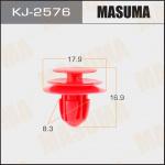 Клипса автомобильная (автокрепеж), уп. 50 шт. Masuma KJ-2576