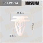 Клипса автомобильная (автокрепеж), уп. 50 шт. Masuma KJ-2584