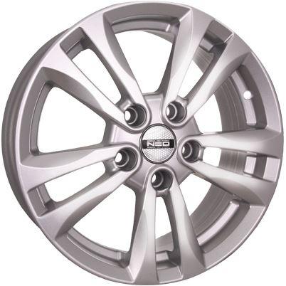 Диск колесный NEO 658N 6,5xR16 5x114,3 ET50 ЦО67,1 серебристый  N658-6516-671-5x1143-50S