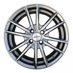 Диск колесный X'trike X-129 6.5xR16 4x98 ЕТ35 ЦО58.5 темно серебристый глубокий 74343