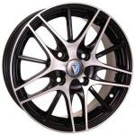 Диск колесный Venti 1406 5,5xR14 4x98 ET35 ЦО58,6 чёрный с полированной лицевой частью rd831681