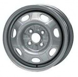 Диск колесный KFZ 6380 5.5xR14 4x100 ЕТ46 ЦО56 серебристый 70092902001