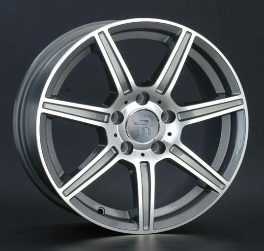 Диск колесный REPLAY MR116 8xR17 5x112 ET38 ЦО66,6 серый глянцевый с полированной лицевой частью 025020-040060006