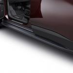 Боковые подножки, пороги (черные) GM 84357961 для Chevrolet Traverse 2018 -