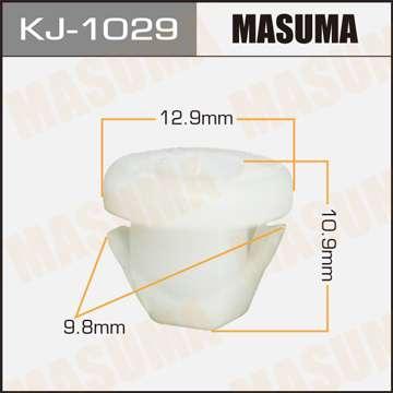Клипса автомобильная (автокрепеж), уп. 50 шт. Masuma KJ-1029