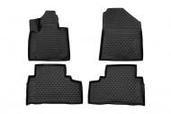Коврики 3D в салон (черный полиуретан) Format FORMAT.CARKIA00001 KIA Sorento Prime 2015-