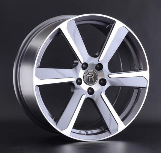 Диск колесный REPLAY LR64 8xR19 5x108 ET45 ЦО63,3 серый глянцевый с полированной лицевой частью 043227-160211014