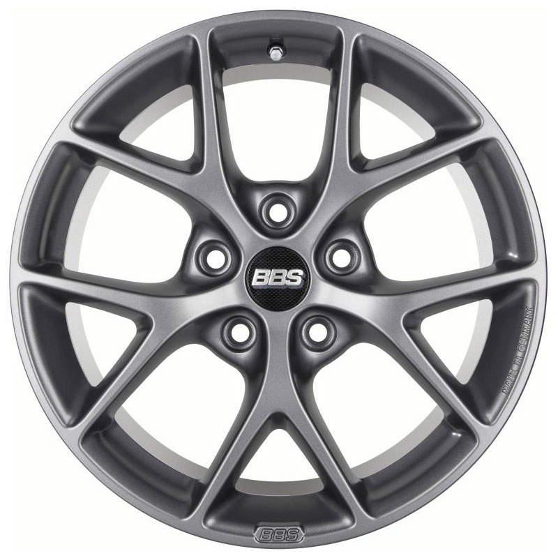 Диск колесный BBS SR001 8xR17 5x120 ET30 ЦО72,5 серый матовый 0358528#
