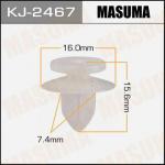 Клипса автомобильная (автокрепеж), 1 шт., Masuma KJ-2467