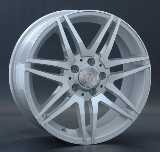 Диск колесный REPLAY MR100 8xR18 5x112 ET53 ЦО66,6 серебристый с полированной лицевой частью 016928-040060006