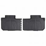 Коврики в салон задние (черные, резиновые, 2 ряд скамья) GM 84206857 для Chevrolet Traverse 2018 -
