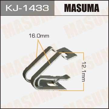 Клипса автомобильная (автокрепеж), уп. 50 шт. Masuma KJ-1433
