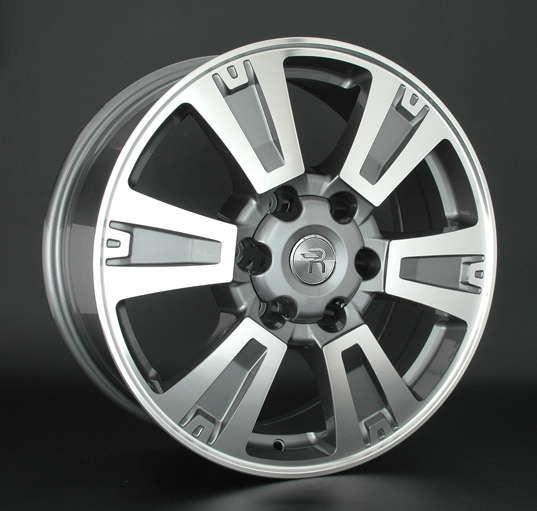 Диск колесный Replay TY204 7,5xR18 6x139,7 ET25 ЦО106,1 серый глянцевый с полированной лицевой частью 080842-040690007