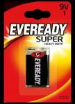 Солевая батарейка EVEREADY SHD E301155400 9V 1шт/блист