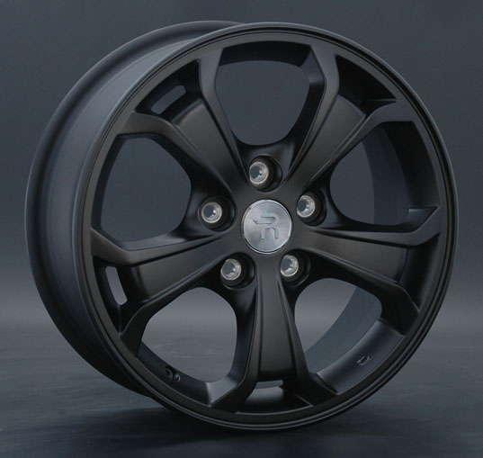 Диск колесный Replay KI35 6,5xR16 5x114,3 ET41 ЦО67,1 черный матовый 000296-100146018