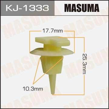 Клипса автомобильная (автокрепеж), уп. 50 шт. Masuma KJ-1333