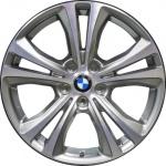 Диск колесный R18 BMW Double spoke 568 36116856069 сильвер металлик BMW Х1 (F48) 2015-