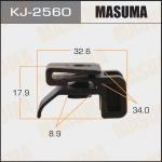 Клипса автомобильная (автокрепеж), уп. 50 шт. Masuma KJ-2560