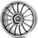 Диск колесный OZ Superturismo LM 7xR17  4x100 ET37 ЦО68 серый тёмный матовый W0188020046
