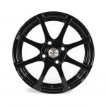 Диск колесный X'trike X-114 5,5xR14 4x100 ET45 ЦО67.1 черный 28231