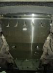 Защита КПП и РК, алюминий (V-2.5TD) АВС-Дизайн 14.05ABC Mitsubishi L200 (4G) 2006-
