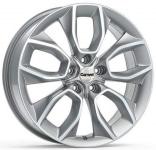 Диск колесный Carwel Хасан 202 7xR18 5x114.3 ET45 ЦО60.1 серебристый металлик 101792