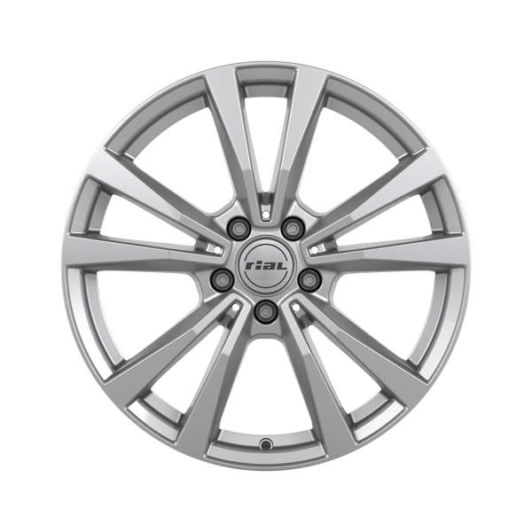 Диск колесный Rial M12 8xR18 5x112 ET43 ЦО66,5 серебристый M12-80843M11-0