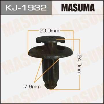 Клипса автомобильная (автокрепеж), 1 шт., Masuma KJ-1932