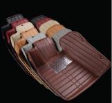 3D коврики в салон кожаные Toyota RAV4 2013 - 2015