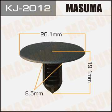 Клипса автомобильная (автокрепеж), 1 шт. Masuma KJ-2012