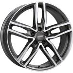 Диск колесный Alutec Ikenu 8xR18 5x105 ET38 ЦО56.6 серый тёмный с полированной лицевой частью IKE80838O82-9