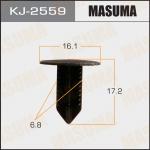 Клипса автомобильная (автокрепеж), уп. 50 шт. Masuma KJ-2559