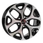 Диск колесный Remain R174 6,5xR16 5x114,3 ET45 ЦО60,1 черный глянцевый с полированной лицевой частью 17401AR