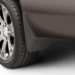 Брызговики задние (без расширителей) 22922767 для Chevrolet Tahoe IV 2015-
