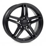 Диск колесный Rial M10 8xR18 5x112 ET43 ЦО66,5 чёрный матовый M10-80843M14-5