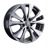 Диск колесный Replay NS232 7xR18 5x114,3 ET40 ЦО66,1 серый глянцевый с полированной лицевой частью 080216-070002001