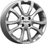 Диск колесный Carwel Нюк 191 6xR16 4x100 ET50 ЦО60.1 серебристый металлик 101784