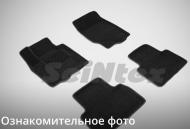 Коврики салона текстильные 3D, черные (V3,5) Seintex 88357 Ford Explorer 2016 - 2018