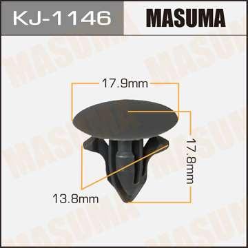 Клипса автомобильная (автокрепеж), уп. 50 шт. Masuma KJ-1146