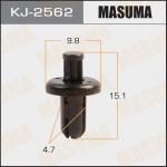 Клипса автомобильная (автокрепеж), уп. 50 шт. Masuma KJ-2562