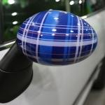 Накладка на боковое зеркало правая Speedwell Blue Mini 51142355380 для Mini Cooper 2015 -