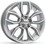 Диск колесный Carwel Хасан 202 7xR18 5x114.3 ET51 ЦО67.1 серебристый металлик 101798