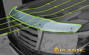 Дефлектор капота CA plastic для Skoda Kodiaq 2017 -
